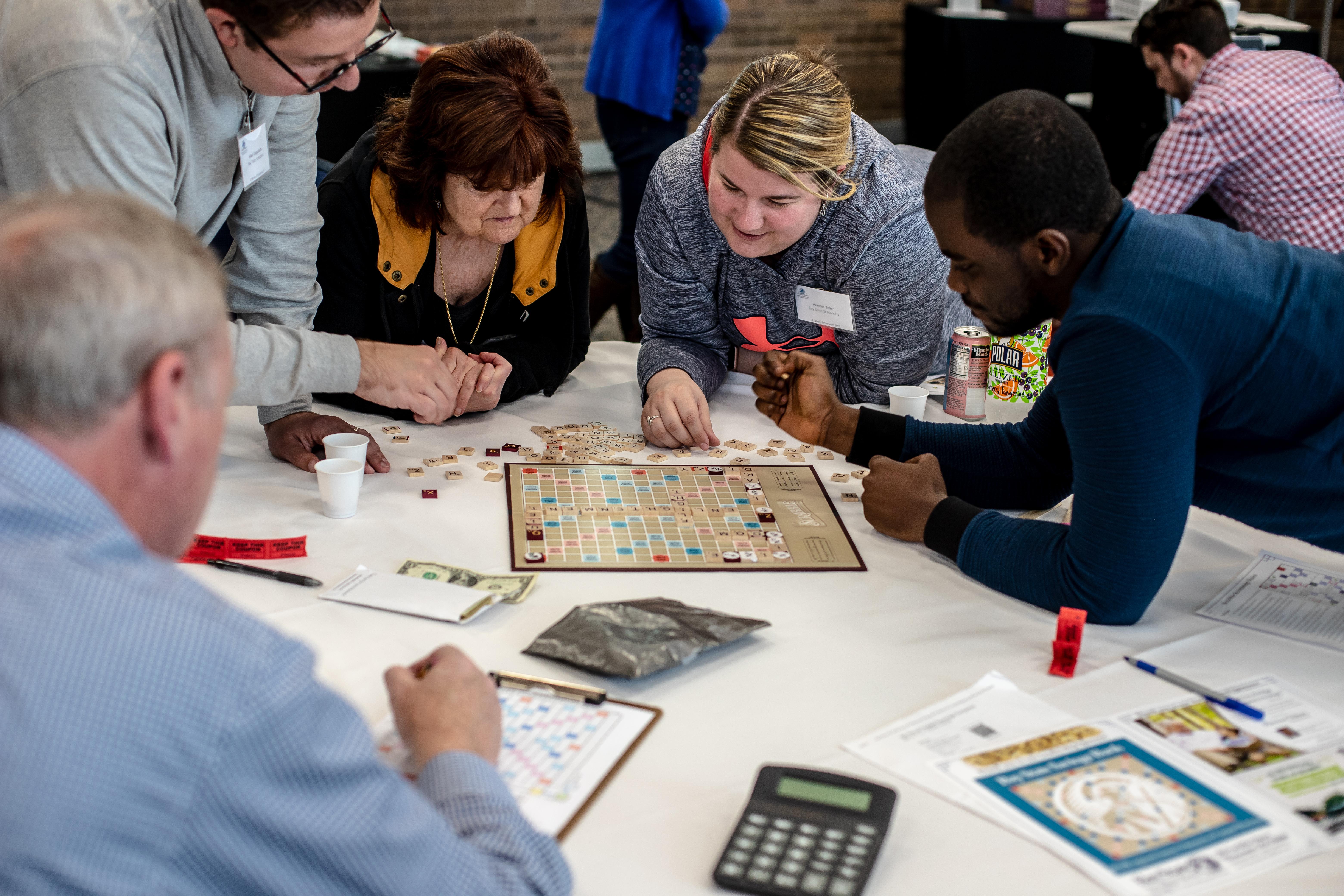 18th Annual Scrabble Scrimmage Tournament 5.4.2019